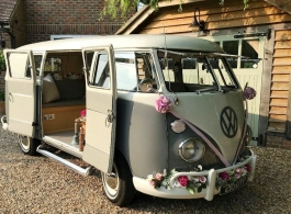 Campervan for wedding hire in Guildford